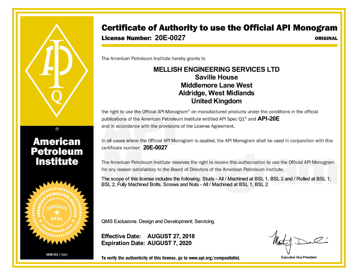 certificate 20e-0027